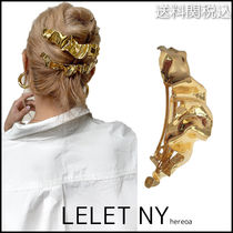 LELET NY ◆ Ruffle French Barrette フリルフレンチバレッタ