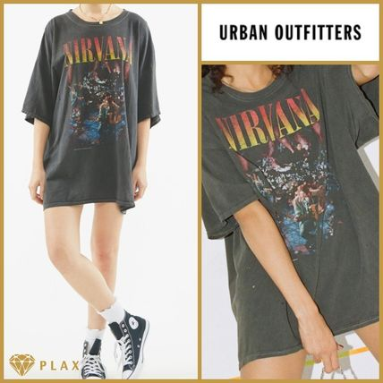 【Urban Outfitters】*ニルヴァーナロゴ Tシャツ/ユニセックス*