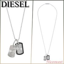 ~DIESEL〜DOUBLE DOGTAGS ネックレス