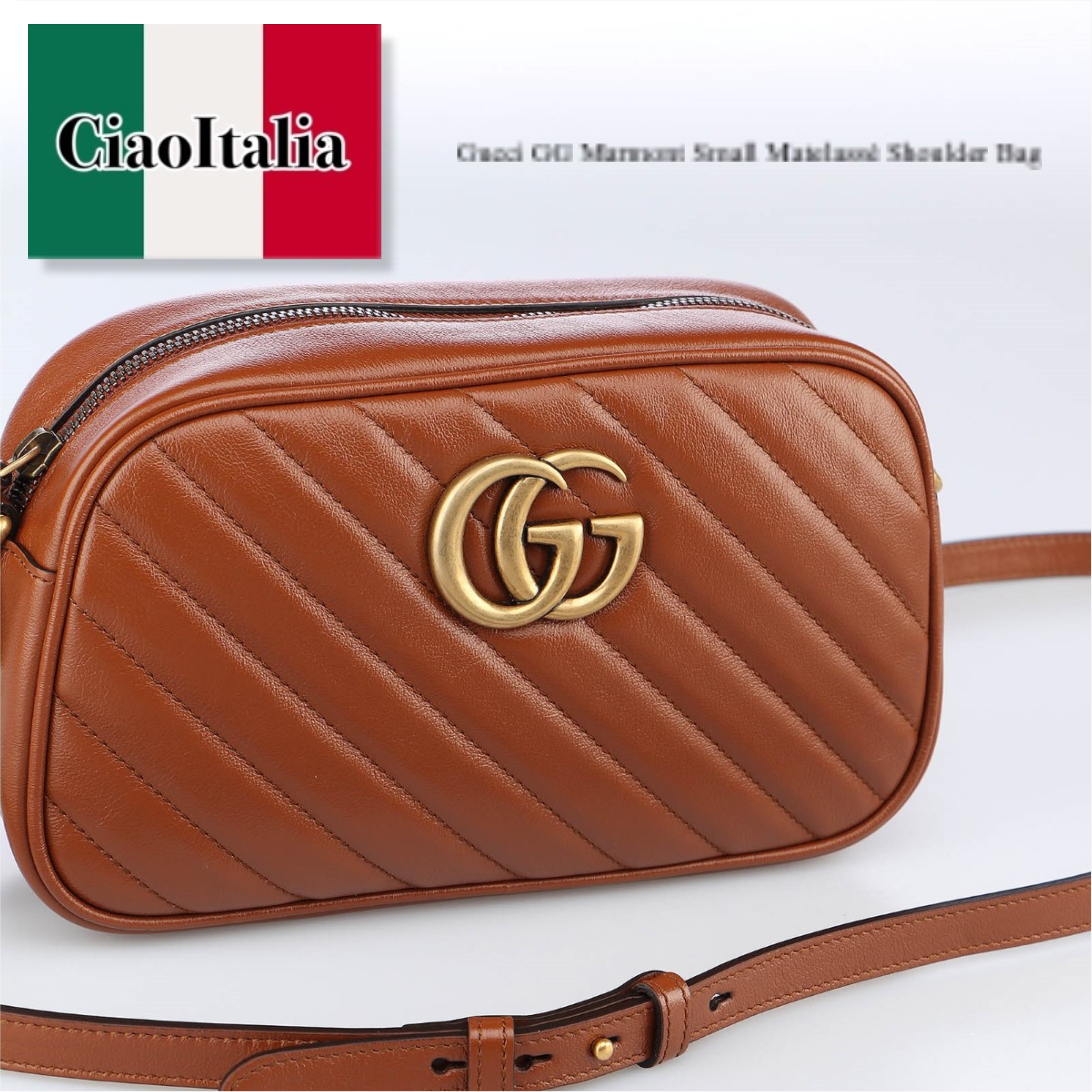 Gucci GG Marmont Small Matelasse Shoulder Bag (GUCCI/ショルダーバッグ・ポシェット) 4476320OLFT2535  447632 0OLFT 2535  447632 0OLFT