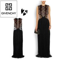 GIVENCHY Tulle-paneled スパンコール Chantilly lace gown