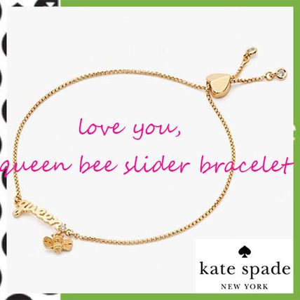 Kate Spade★I love youスライダーブレスレットQueen Bee♪