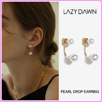 【LAZY DAWN】pearl drop earring E023〜ピアス★OH MY GIRL着用