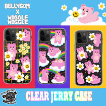 【wiggle wiggle x BELLYGOM】iPhone Galaxy Clear Jerry Case