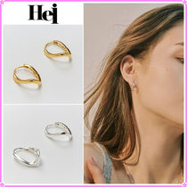 【Hei】curve one touch earring〜カーブピアス★2021春コレ