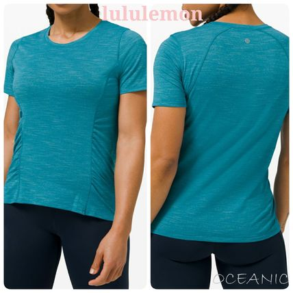 【lululemon】Another Mile SS 抗菌加工 半袖 ギャザーデザイン