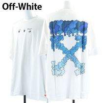 Off-White Tシャツ BLUE MARKER OVER TEE OMAA038S21JER001 0145
