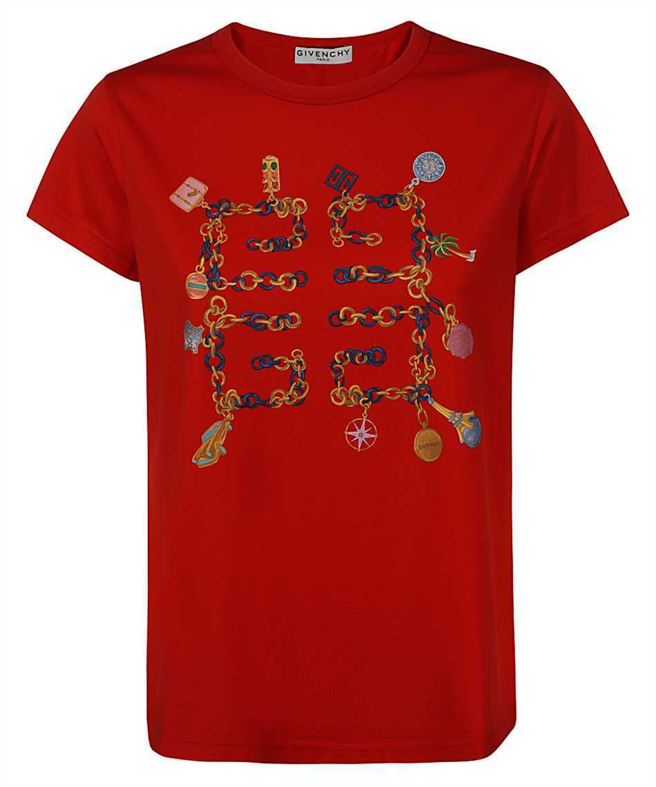Givenchy BW707Y3Z4Q 4G CHARMS SLIM FIT T-shirt (GIVENCHY/Tシャツ・カットソー) BW707Y3Z4Q 626