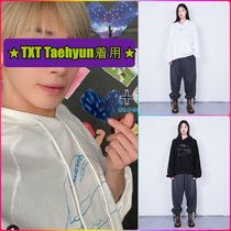 【CHIN DOWN】RAGLAN HOODIE PILLOW TALK ★TXT Taehyun着用★