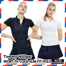 Tommy Hilfiger(トミーヒルフィガー) レディース・トップス Tommy Hilfiger★SPORT TH COOL SLIM FIT POLO
