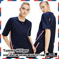 Tommy Hilfiger(トミーヒルフィガー) レディース・トップス Tommy Hilfiger★SPORT MOISTURE WICKING RELAXED FIT T-SHIRT
