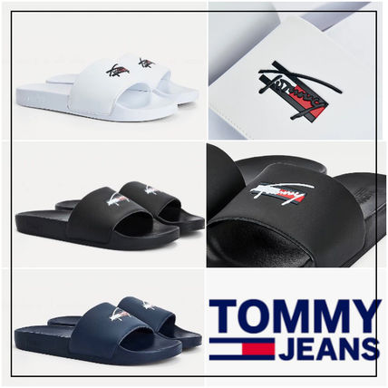 UK発★TOMMY JEANS 21SS 'LOGO POOL SLIDES' サンダル