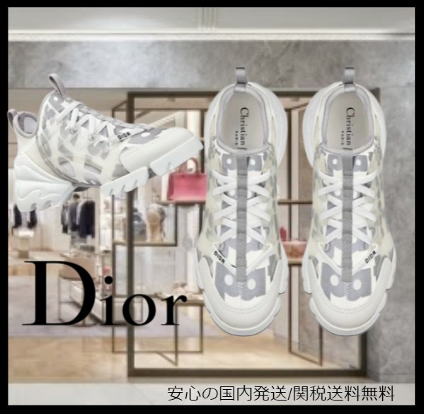 21AW新作 Dior Spatial D-CONNECT スニーカー (Dior/スニーカー) KCK307NEP_S10W