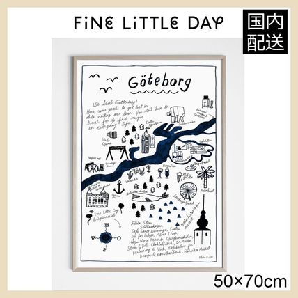 ★Fine Little Day★ GOTEBORG POSTER・50×70㎝★ 北欧ポスター
