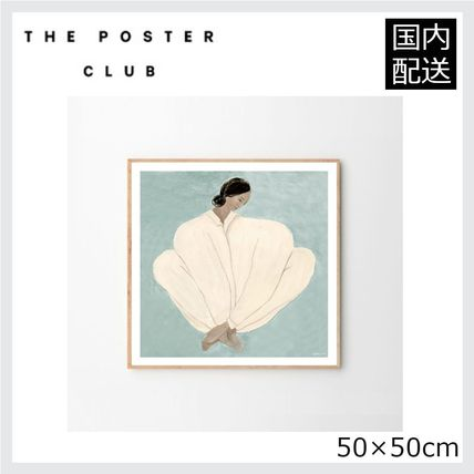 ☆THE POSTER CLUB☆MEET ME AT JAURES 50×50cm☆北欧ポスター
