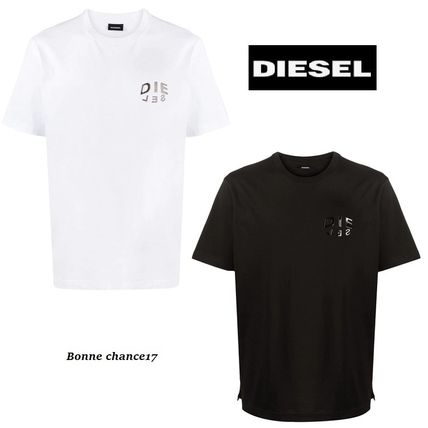【DIESEL】T-JUST-SLITS-A30エンボスロゴTシャツ