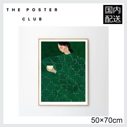 ☆THE POSTER CLUB☆ COFFEE ALONE AT PLACE DE CLICHY 50×70cm