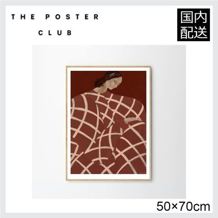 ☆THE POSTER CLUB☆ WAITING AT ART ET METIERS 50×70cm☆彡