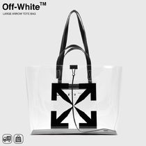 人気 | OFF-WHITE - LARGE ARROW TOTE BAG ラージトートバッグ