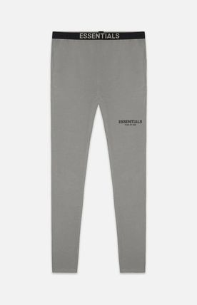 SS21 FEAR OF GOD ESSENTIALS ATHLETIC LEGGINGS CHARCOAL