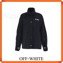 Off-white Windbreaker With Logo