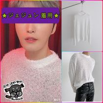 【Ninetytwovolt】PIGTAIL SEE THROUGH KNIT★ジェジュン 着用★