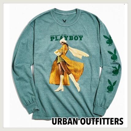 Urban Outfitters ロンT Playboy Pose 長袖Tシャツ