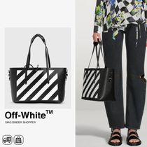 人気 | OFF-WHITE - DIAG BINDER SHOPPER レザーショッパー
