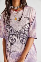 Free People ★ Washed Butterfly Tee