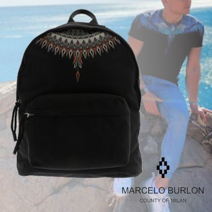 <MARCELO BURLON COUNTY OF MILAN>NORWEGIAN WINGS BACKPACK