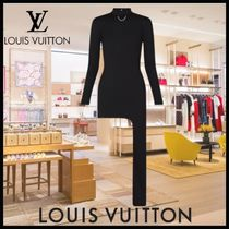 [FW21新作☆]Louis Vuitton LONG-SLEEVED ASYMMETRICAL DRESS