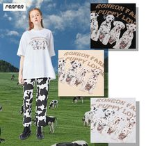 【ronron】21ss OVER FIT PUPPY T-SHIRT