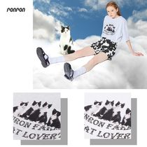 【ronron】21ss OVER FIT CATS T-SHIRT