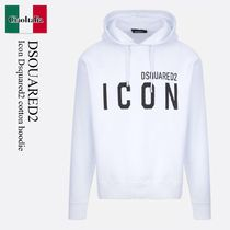D SQUARED2(ディースクエアード) パーカー・フーディ Icon Dsquared2 cotton hoodie