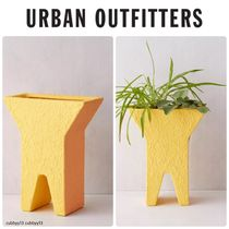 Urban Outfitters Hairpin Base Clay Box Planter