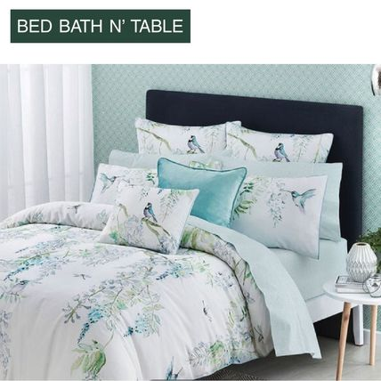 Bed Bath N Table Japanese Wisteria Quilt Cover+2X 枕カバー