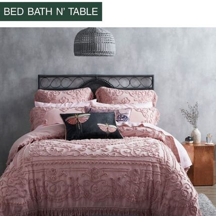 Bed Bath N Table Naira Quilt Cover+ 2X枕カバーのセット