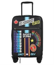 D SQUARED2(ディースクエアード) スーツケース Dsquared2 TYM0002 47503928 TRAVELLER PATCH Suitcase