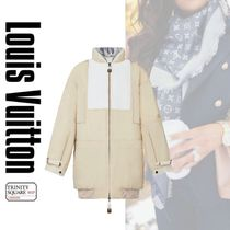 直営店 ルイヴィトン Peach-Effect Cotton Long Puffer