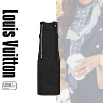 直営店 ルイヴィトン Snap Button Straps Midi Dress