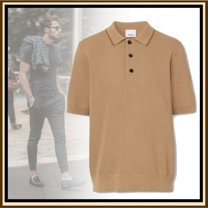21SS◆リュクスな佇まい◆BURBERRY◆Pique Polo Shirt (Burberry London/ポロシャツ) 69018943