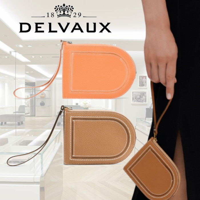 DELVAUX Pin D Multifonctions コインケース Taurillon Soft 2色 (DELVAUX/コインケース・小銭入れ) AB0098AQY0ARKPA  AB0098AQY0ADNDO