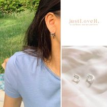 【just LoveR.】Bailey Earrings SILVER + Gift Box