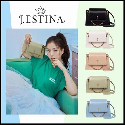 ☆送料無料☆ J.ESTINA JOELLE BARBIE MINI CROSS BAG 5色 ☆