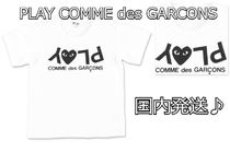 COMME des GARCONS(コムデギャルソン) キッズ用トップス 国内発送♪PLAY COMME des GARCONS kids ギャルソン ハートT