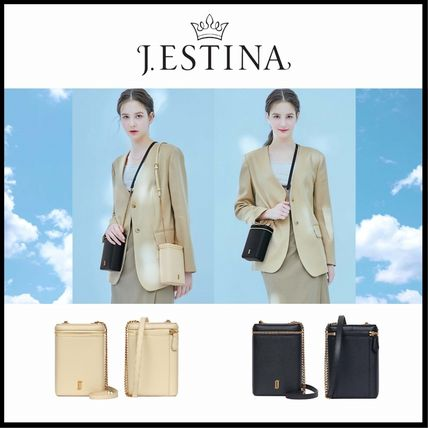 ☆送料無料☆ J.ESTINA JOELLE FOG MINI CROSS BAG 2色 ☆