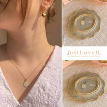 【just LoveR.】Jeanne Daisy Necklace for Daisy Lover
