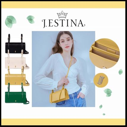 ☆送料無料☆ J.ESTINA JOELLE VIVA MINI CROSS BAG 4色 ☆