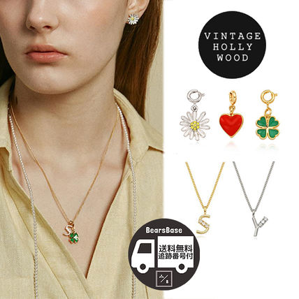 My Little Initial Necklace + Petit Charm BBH1530 追跡付