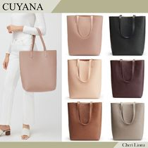 CUYANA Tall Structured Leather Tote レザートート 6色 送料込